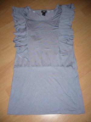H&M Top lungo blu pallido