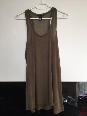 Longtop in Khaki H&M