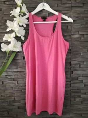 Longtop Kleid Trägertop Long Top Träger Minikleid