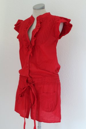 Tunic red cotton