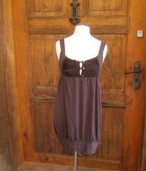Longtop, kurzes Kleid - Größe 36  - Farbe Braun - von Tandem