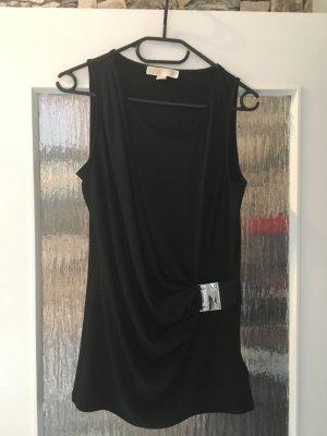 Michael Kors Top lungo nero-argento
