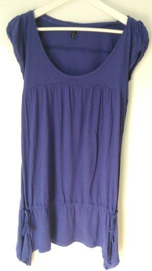Longtop / Minikleid lila violett Jersey NEU!
