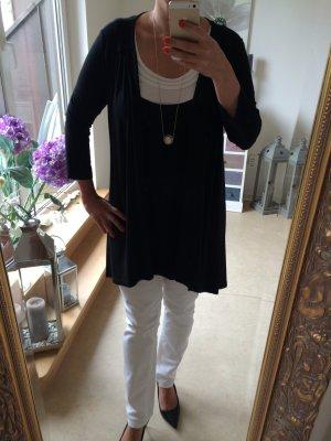 Long Top white-black