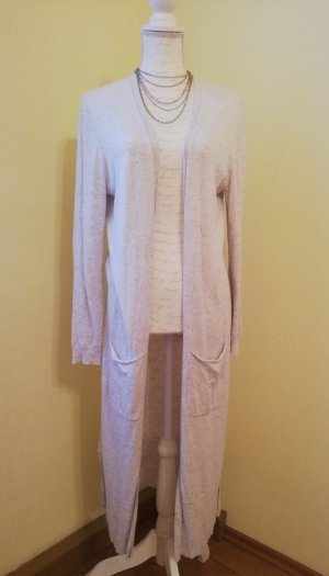 Esprit Long Knitted Vest natural white