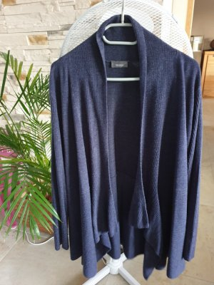 C&A Long Knitted Vest dark blue