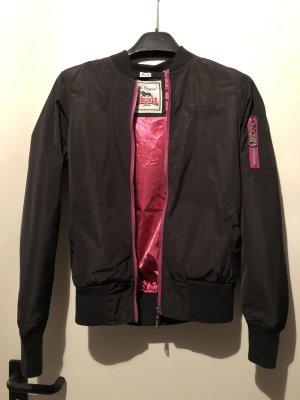 Lonsdale Blouson aviateur noir-rose
