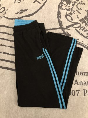 Lonsdale Sporthose schwarz & türkis