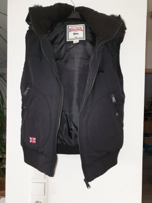 Lonsdale Hooded Vest black
