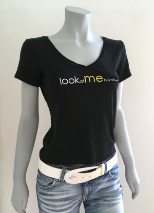 """look at me now..."" Ungetragen! ESPRIT Collection T-Shirt Statement-Shirt Gr.L"