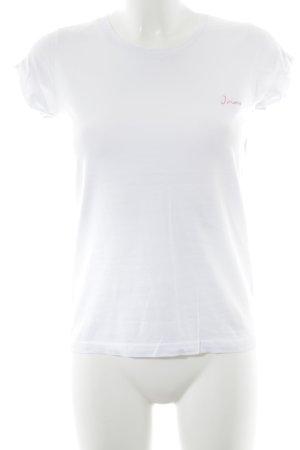 Lookabe T-Shirt Schriftzug gedruckt minimalistischer Stil