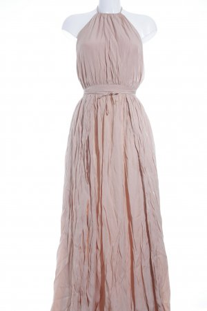 Lookbookstore Maxikleid nude Antik-Look
