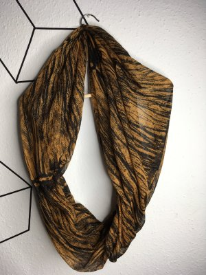 Ann Christine Snood black-gold orange