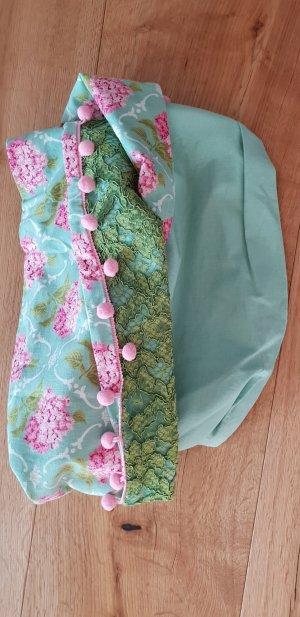 Tubesjaal roze-lichtblauw