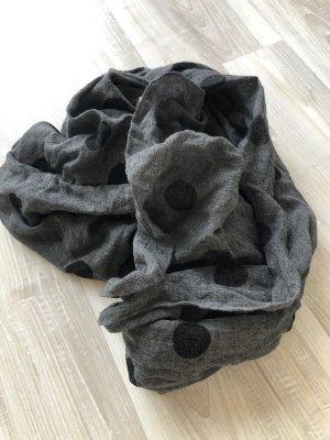 Foulard noir-gris