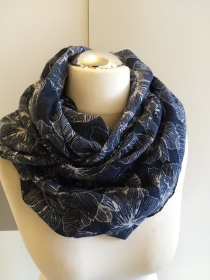 Multiblu Neckerchief dark blue-white polyester