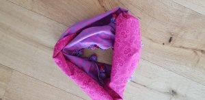Bufanda tubo lila