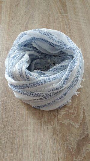 Loop in den Farben weiß / blau
