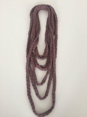 Loop Kette geflochten in Nude von Codello