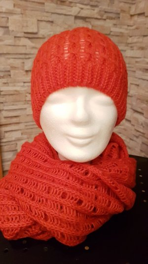 H&M Tube Scarf red