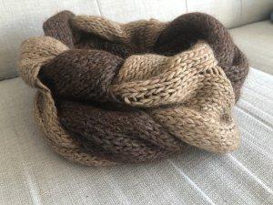 Loop Schal aus Alpaka Wolle