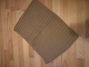 Bufanda tubo marrón claro-coñac
