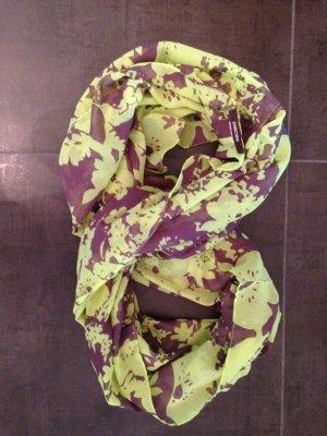 Loop Schal grau gelb
