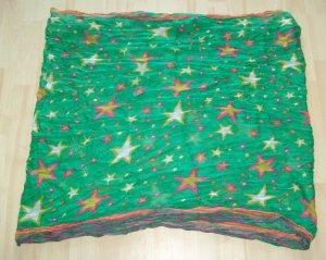 Tubesjaal groen Polyester
