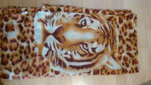 loop schal leolook animalprint tiger