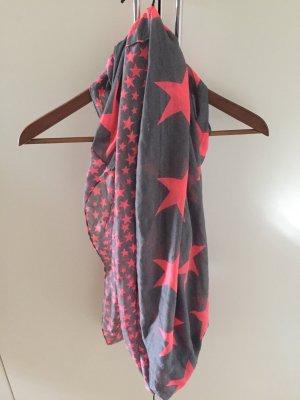 Loop- Schal mit Sternenmotiv
