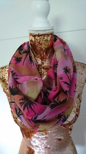 Tubesjaal roze-lila