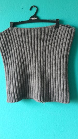 H&M Divided Knitted Scarf grey