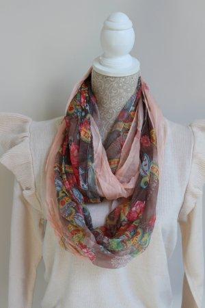 Loop-Schal sehr fein, toll für den Sommer
