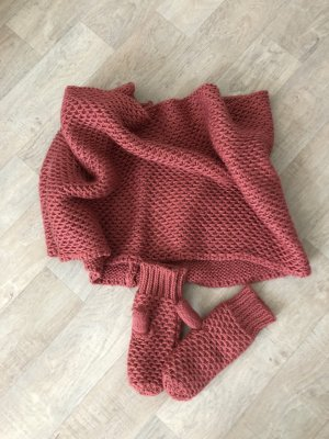Pieces Tube Scarf raspberry-red