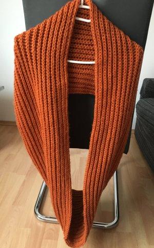 Loop Schlauch Schal Orange