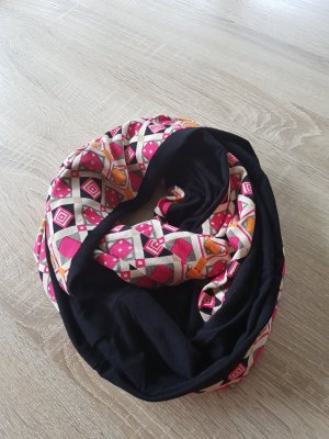 Snood black-pink