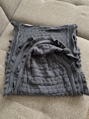 H&M L.O.G.G. Snood slate-gray cotton