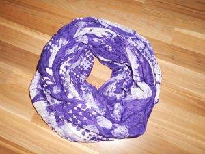 Écharpe ronde multicolore tissu mixte