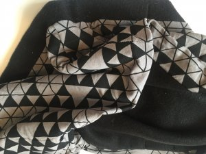 Bufanda tubo gris-negro