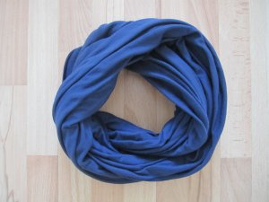 Bershka Tube Scarf steel blue