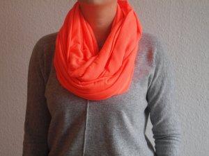 Loopschal Schlauchschal Neon-Orange