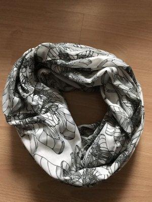 Pieces Écharpe ronde noir-blanc