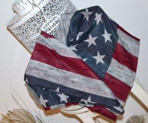 Loopschal von New Yorker – USA Style - Flagge / Stars & Stripes