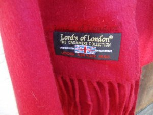 """Lords of London"" Kaschmir XL schal"