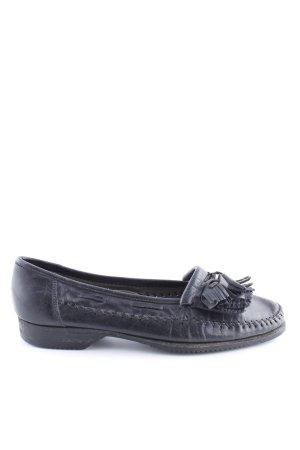 Lorenzo Banfi Slip-on Shoes black business style