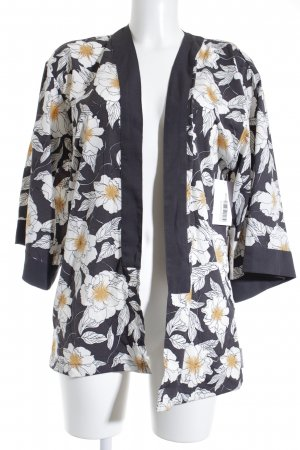 Loretta Lizzio for Element eden Kimono-Bluse Blumenmuster Casual-Look