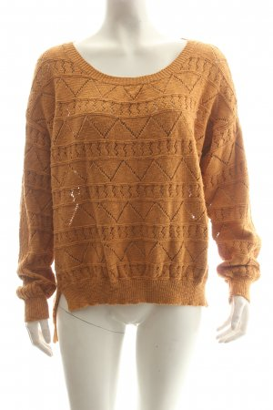 Loretta Lizzio for Element eden Strickpullover goldorange Casual-Look