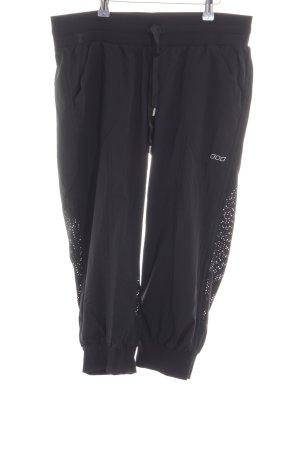 Lorna Jane Active Pantalon 3/4 noir style décontracté