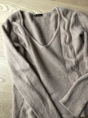 Loro Piana Oversized Sweater camel