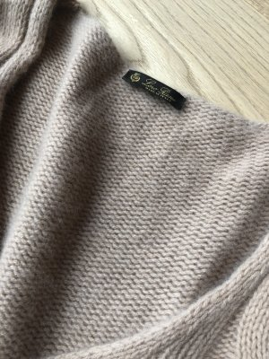 LORO PIANA Baby-Cashmere Strick-Pullover Gr. L oversized look